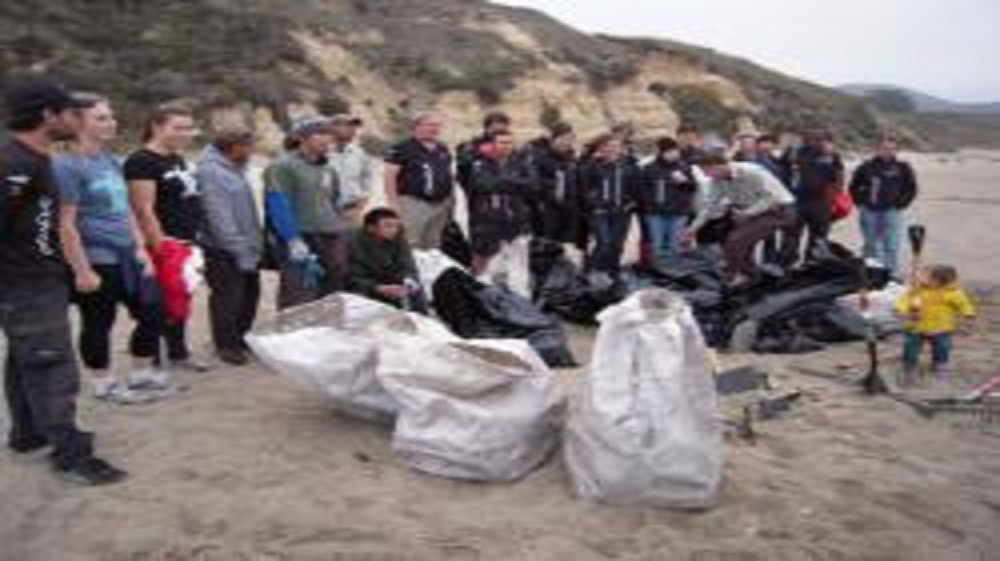 ORACLE TEAM USA and Sea Turtle Team Clean Up 350 Pounds of Marine Debris and Plastic at Point Reyes Seashore