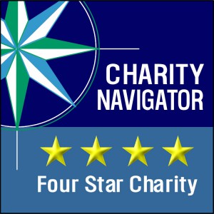 Four Star Rating by Charity Navigator