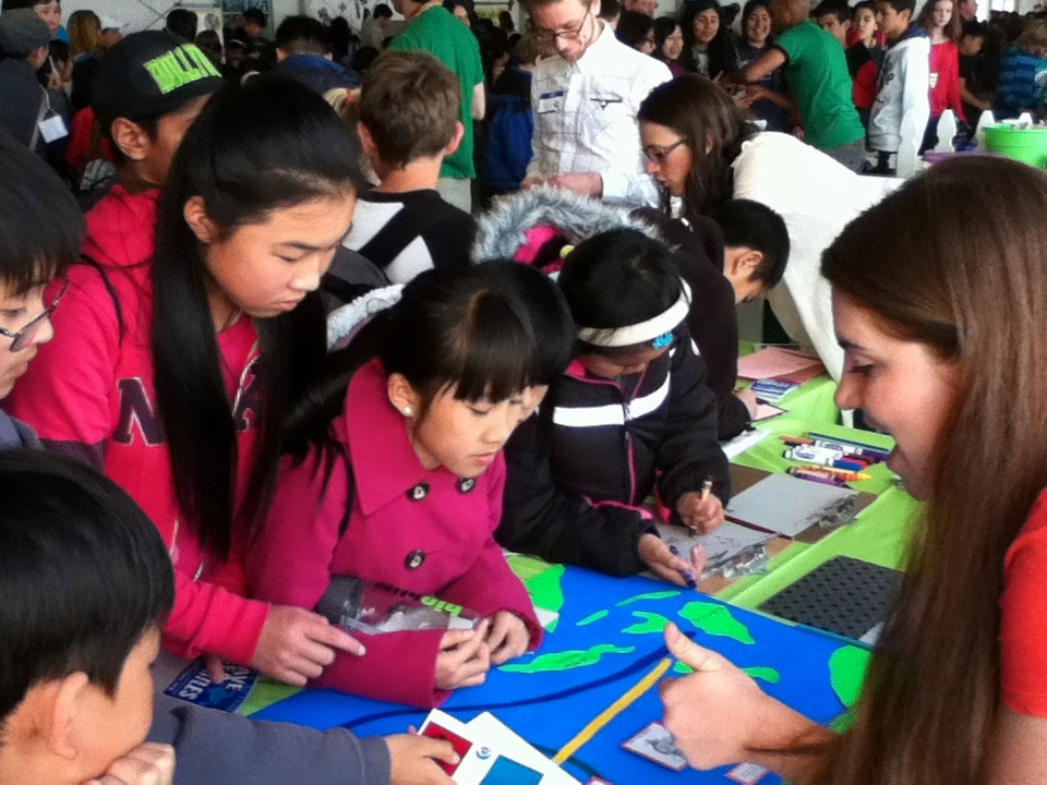 Time-lapse Video from Turtle Island Table at BioBlitz 2014