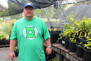 Meet Jeremy Rich, our newest SPAWN native plant intern