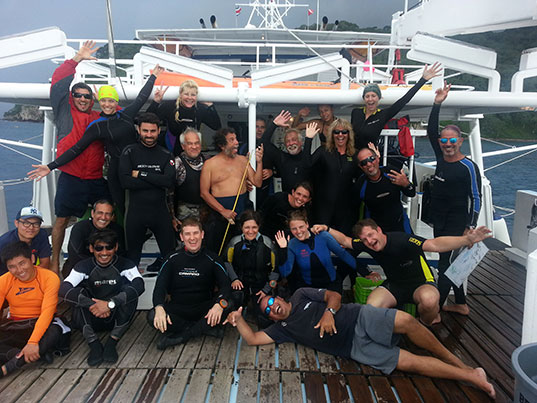 Cocos Island Expedition Update from Graduate Student Elena Nalesso