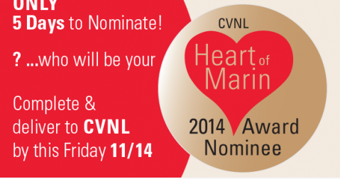 Nominate Turtle Island for Heart of Marin Awards