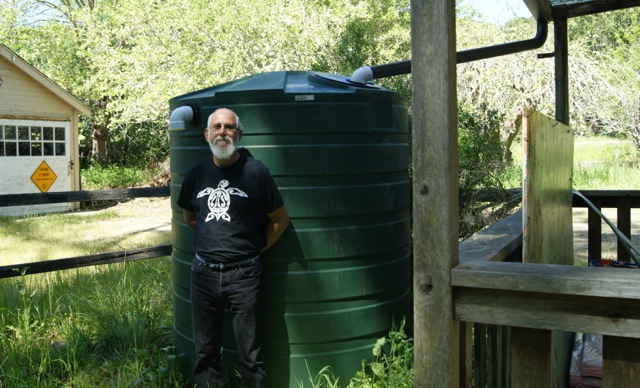 Water Tank and Todd STeiner