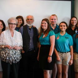 Carole Allen honored at Moody Gardens event in Galveston, Texas