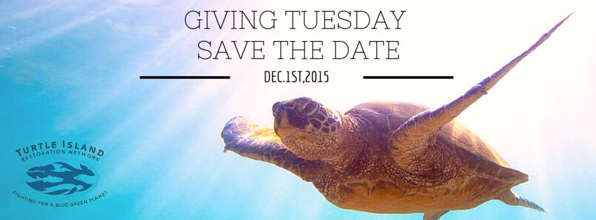 GivingTuesday is Tuesday, December 1st