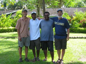 The PNG Team: Peter Fugazzotto, Wences Magun and Todd Steiner