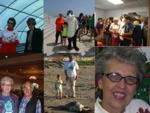 Carole Allen Collage - TIRN Lifetime Ocean Activist