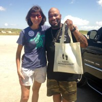 Popular rapper Bun B participated in the Bring the Bag campaign with TIRN and partners