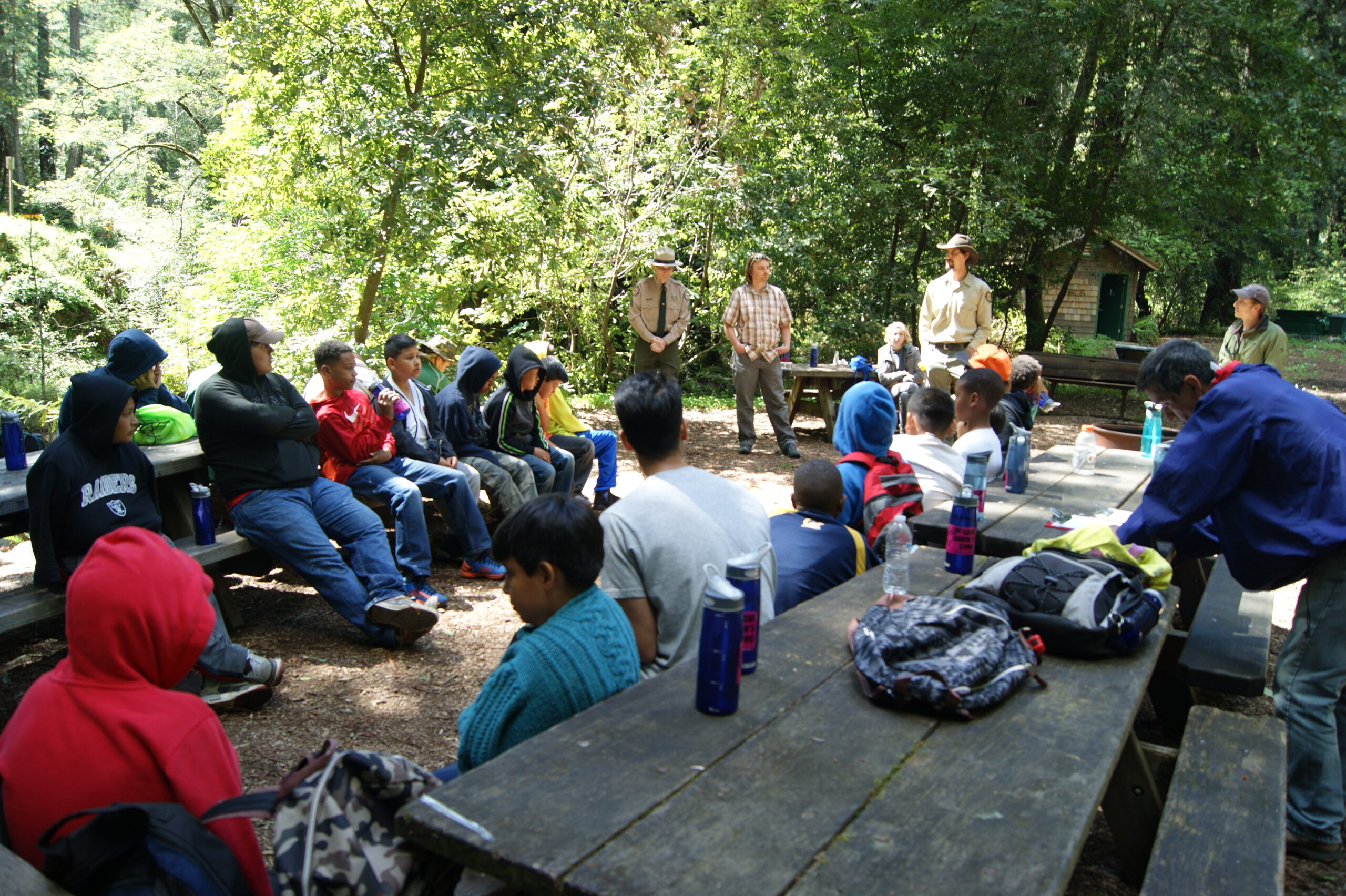 SPAWN Provides Redwood Education to Oakland Students from Brothers on the Rise