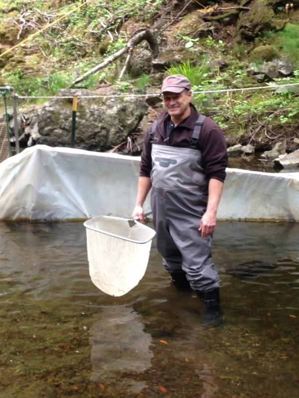 Meet Smolt Monitoring Volunteer Bob Minekheim