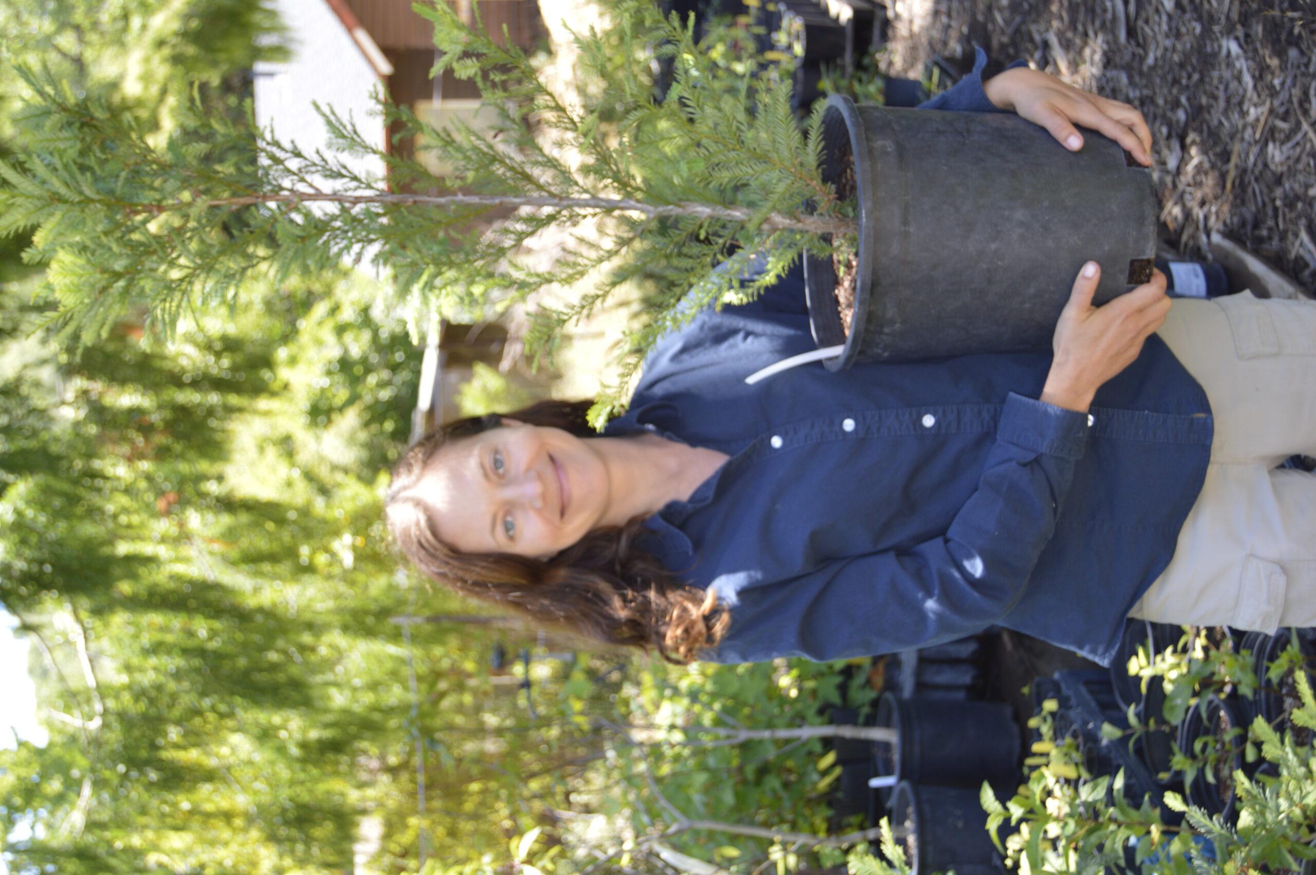 Meet SPAWN's Native Plant Nursery Manager Audrey Fusco