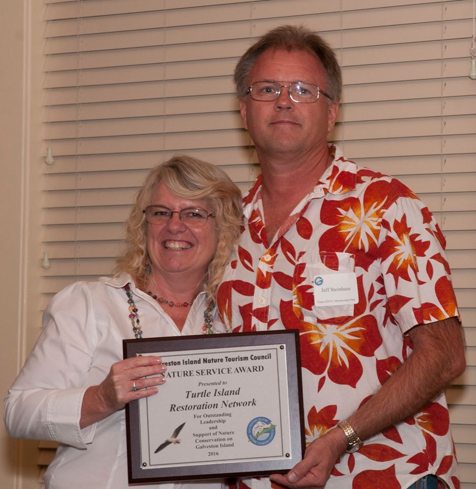 Turtle Island Restoration Network Honored by Galveston Island Nature Tourism Council