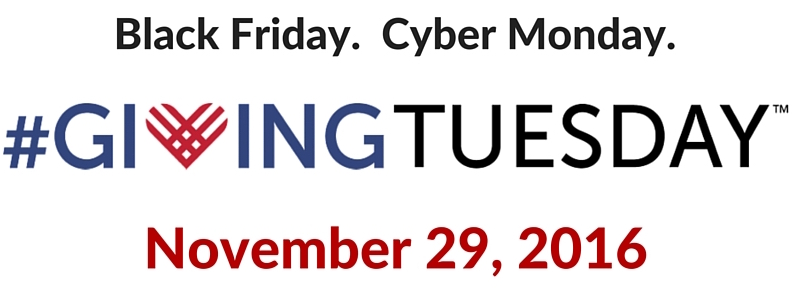 Giving Tuesday is November 29th!