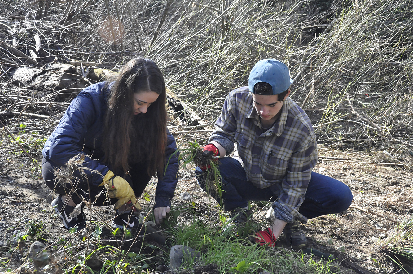 Drake students get hands-on lesson about the environment