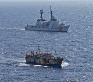 Coast Guard drift net fishing vessel 600x531