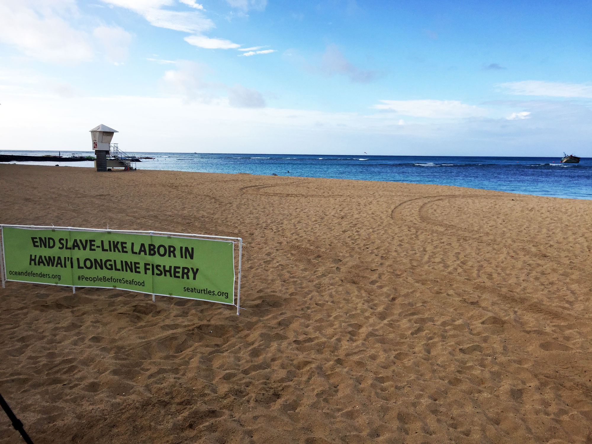 Activists Raise Awareness About Human Rights Abuses in Hawaiian Longline Fishery