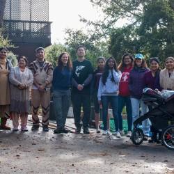 Habitat Restoration Day Group Photo