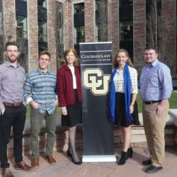 Student attorneys at CU Boulder.