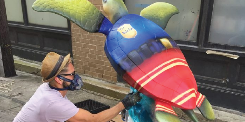 Turtles About Town Dedication