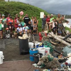 Kaehu Group Pic - Marine Debris Cleanup