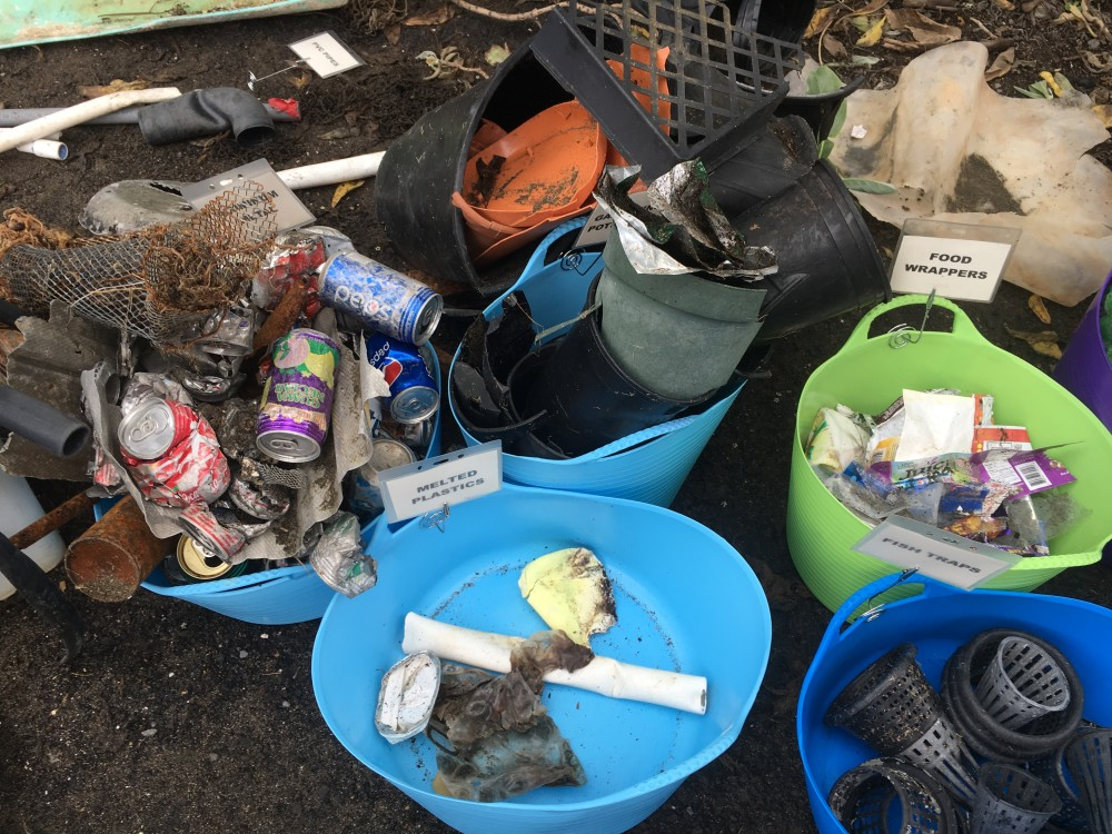Marine Debris - Kaehu Cleanups
