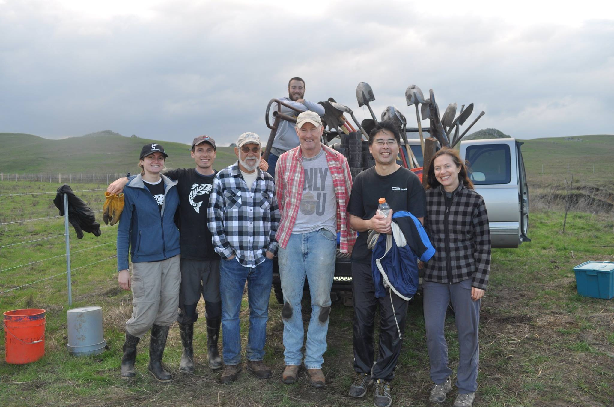 Volunteers Plant Redwood Groves in Nicasio to Fight Climate Change