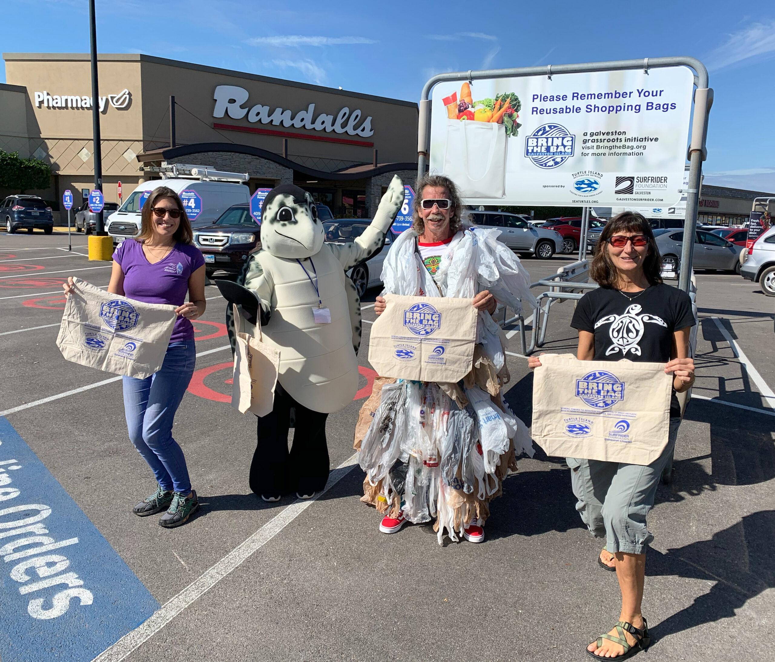 Environmental Groups Renew Push for Single-Use Plastic Bag Ban in Galveston