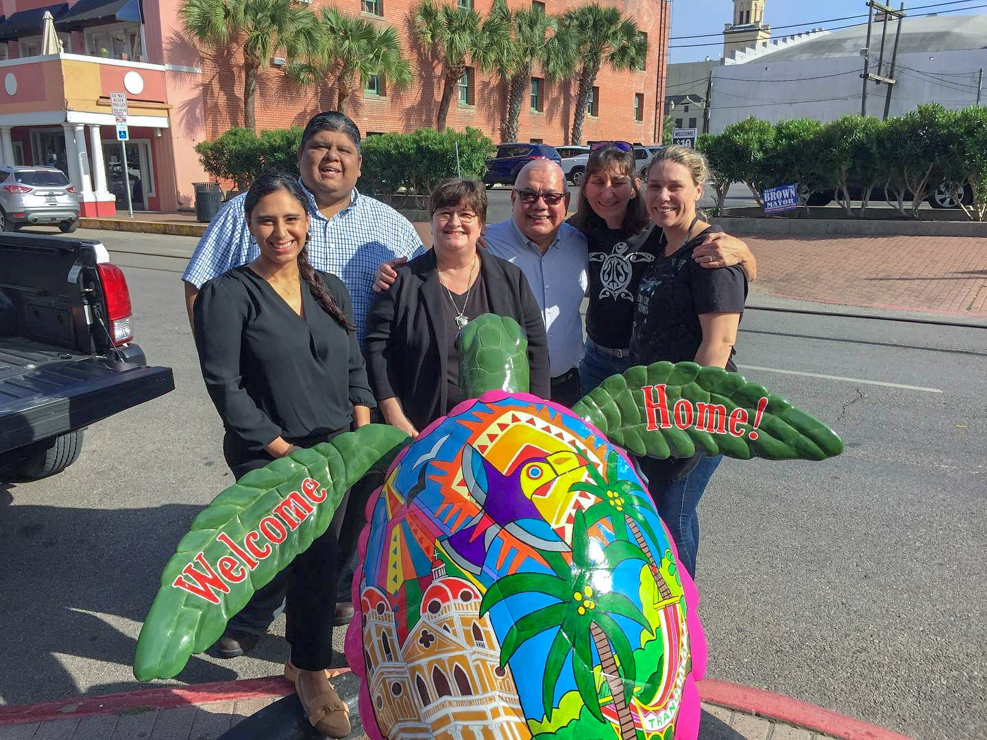 Newest 'Turtles About Town' Statues Celebrate Galveston's Commitment to Sea Turtle Protection and Local Art